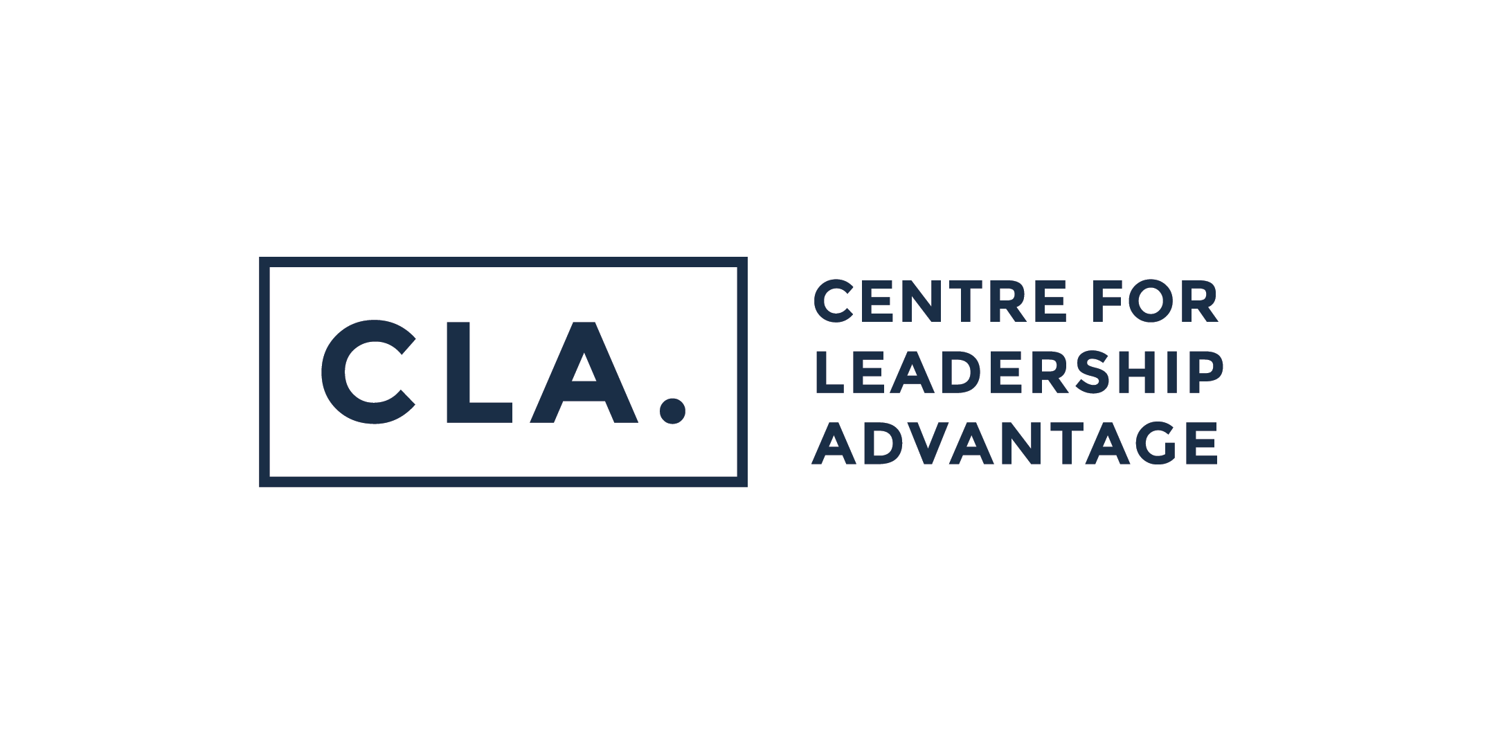 Centre for leadership advantage (CLA) Logo