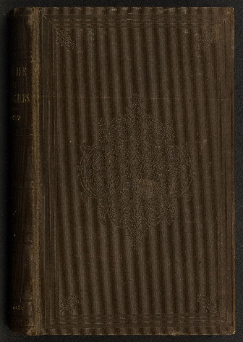 p.p1 {margin: 0.0px 0.0px 0.0px 0.0px; font: 14.0px Georgia; color: #000000} span.s1 {font-kerning: none}   Cover of first edition owned by the family of Emily Dickinson in the Emily Dickinson collection at Harvard Houghton Library.