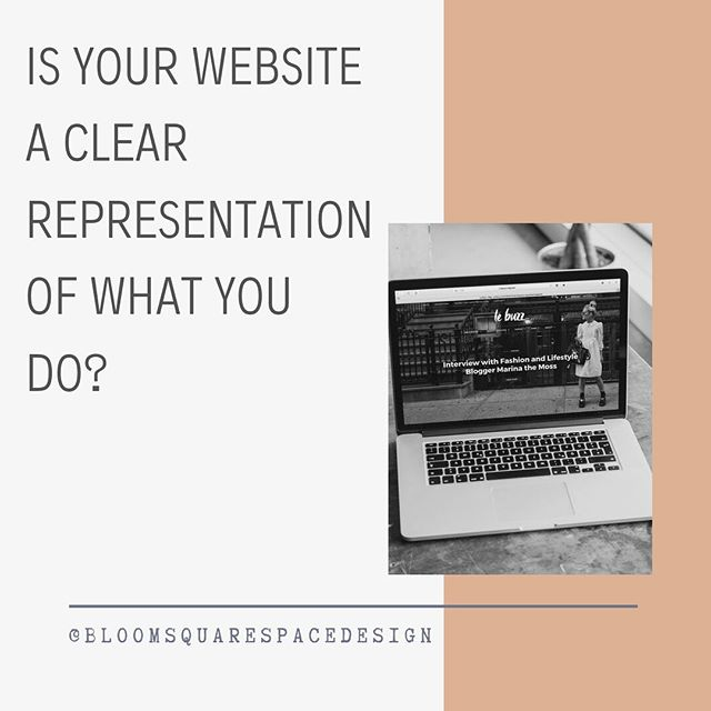 Clear OBJECTIVE clear BRANDING and a killer STRATEGY goes into every #squarespace site we create or redesign. You only have a few seconds to capture your audience before they bounce, is your site clear on what you do? Time for a website audit!