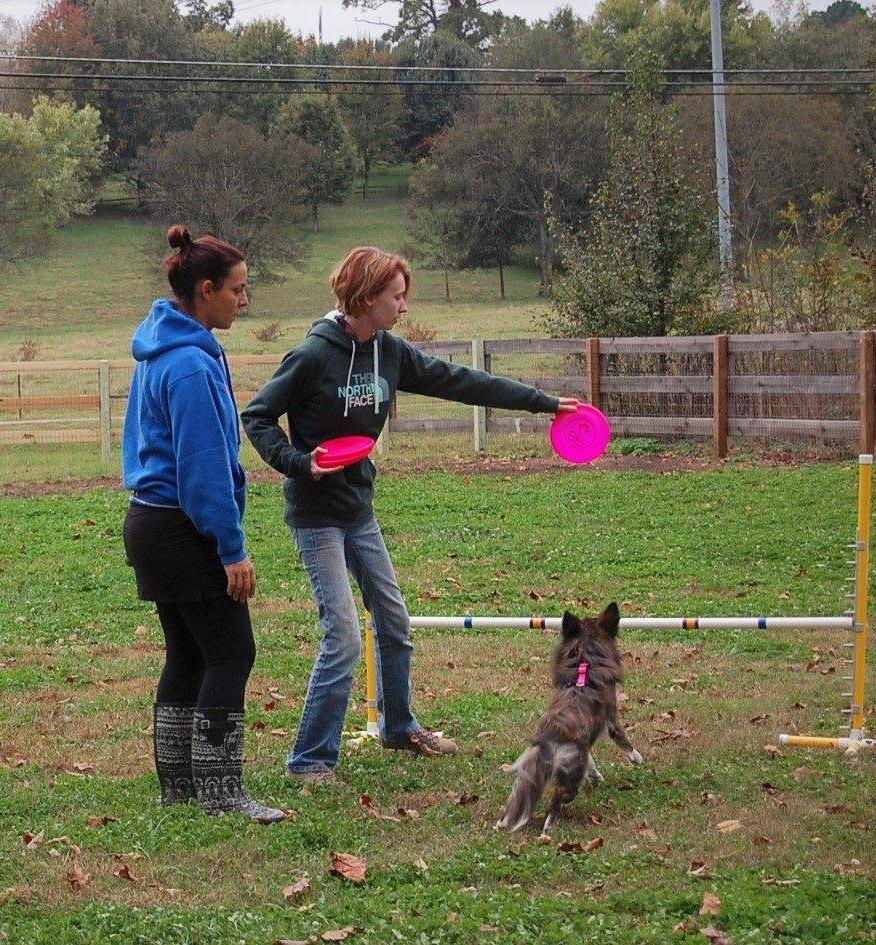 Lauren & Oakley with Andrea Rigler