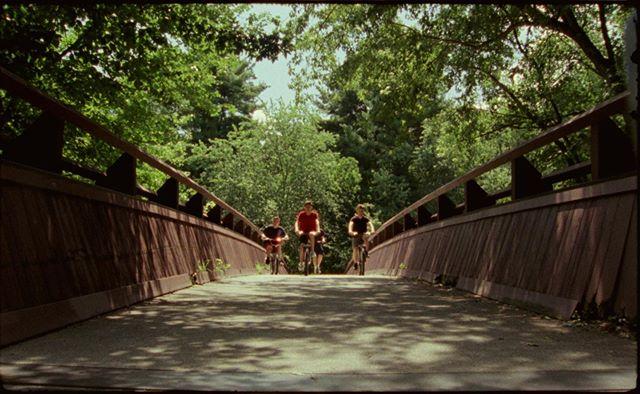 """Focal Point"" Directed by @kylereardon_  Director of photography @mattfdevlin • • • #shotonfilm #16mm #kodak  #250D #cinematography #bicycle #minesfallsnashua #nashua #film #newyork #newhampshire"