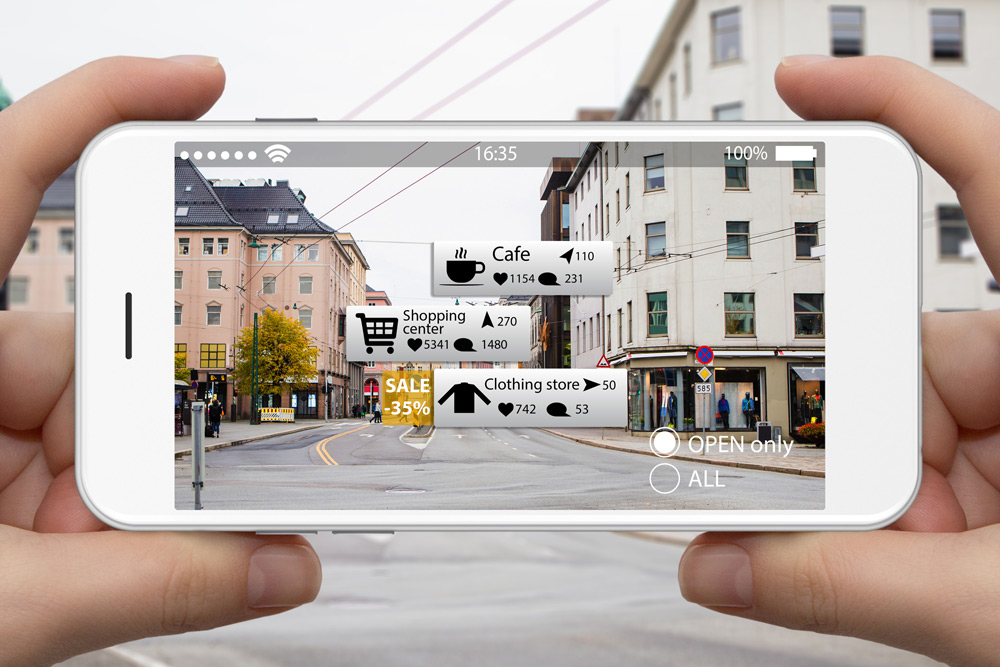 Augmented Reality - may change the game for interactive social encounters
