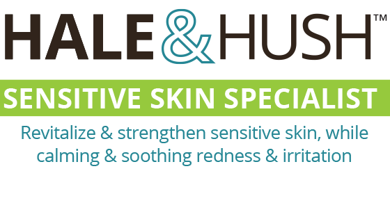 Hale & Hush products focus on sensitive and health challenged skin. Although gentle, these ingredients are highly therapeutic to repair and promote the health of your skin. Oncology approved, free of parabens, gluten & sulfates. No artificial fragrance. Beneficial & soothing for even the most sensitive!