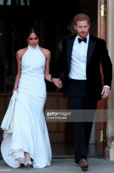 Meghan Markle's Wedding Reception Dress
