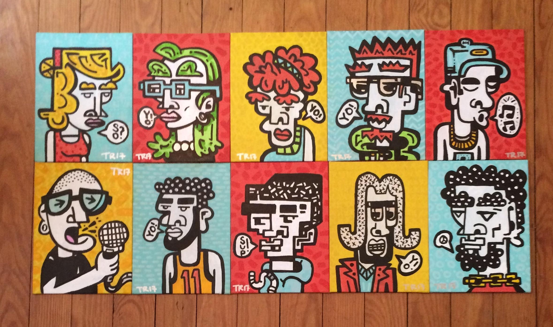 6x8 portraits.