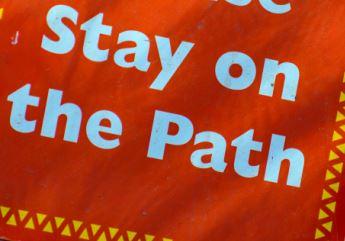 Stey On The Path.JPG