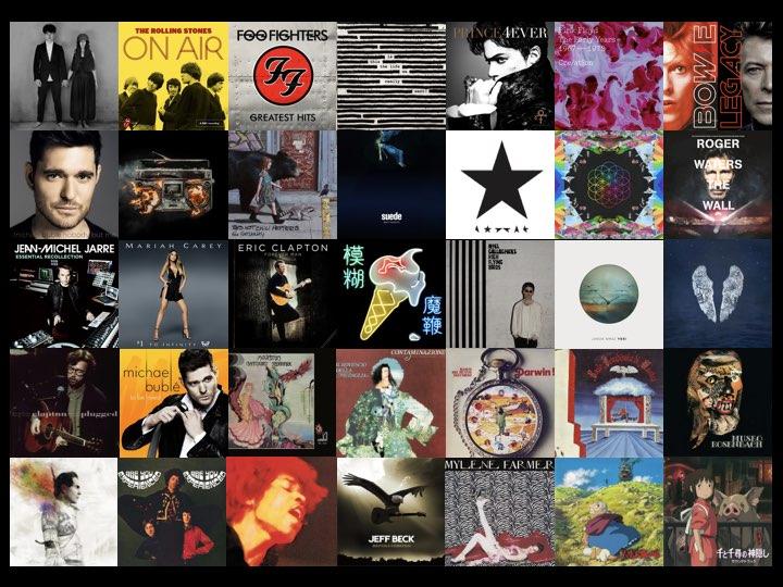 프린스, 데이빗 보위, 콜드플레이, 노엘 갤러거부터 지브리 OST까지, 수많은 앨범의 라이너 노트를 썼다