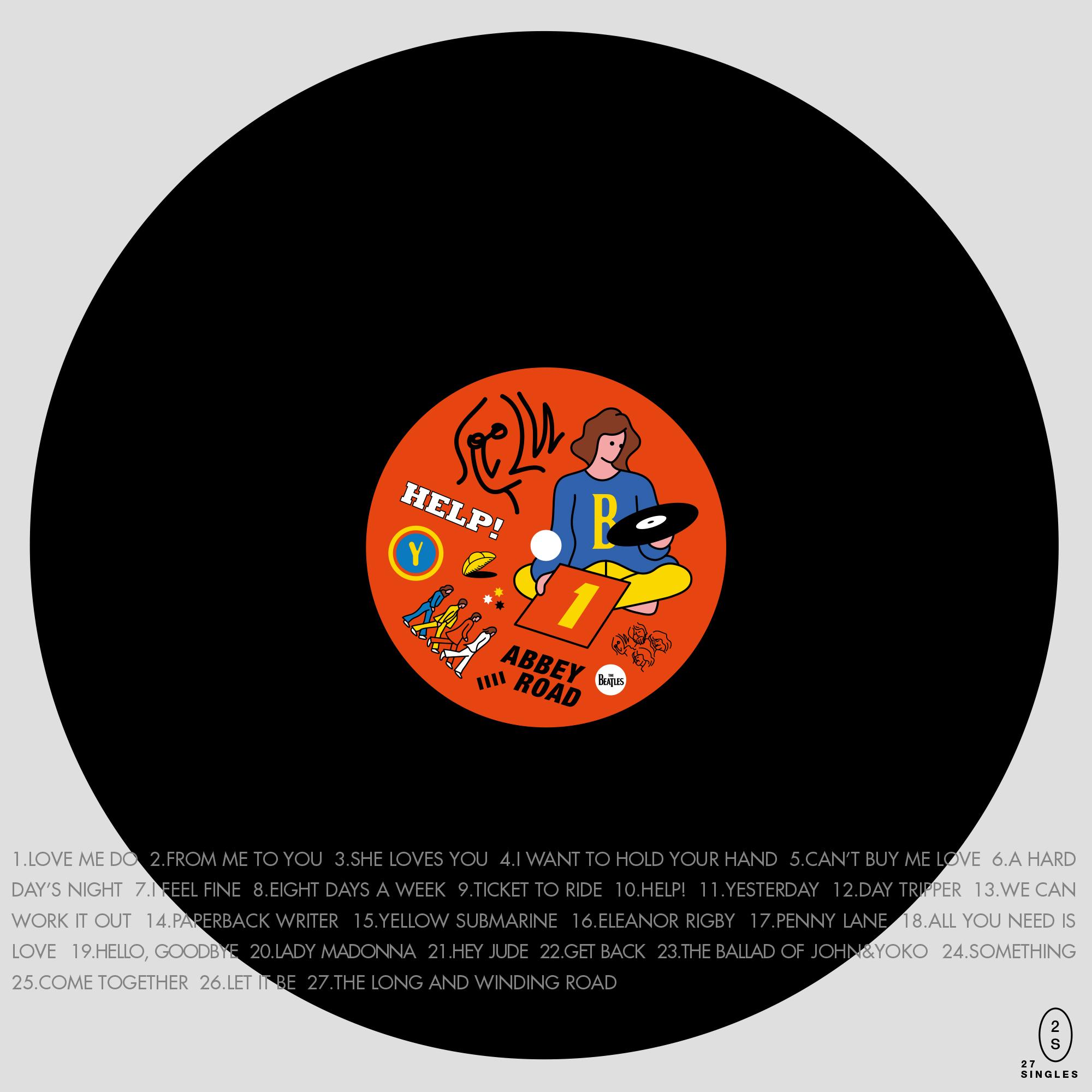 agent 89와 함께 했던 프로젝트. 비틀즈 앨범을 조금 새로운 형태로 재해석한 아트워크.