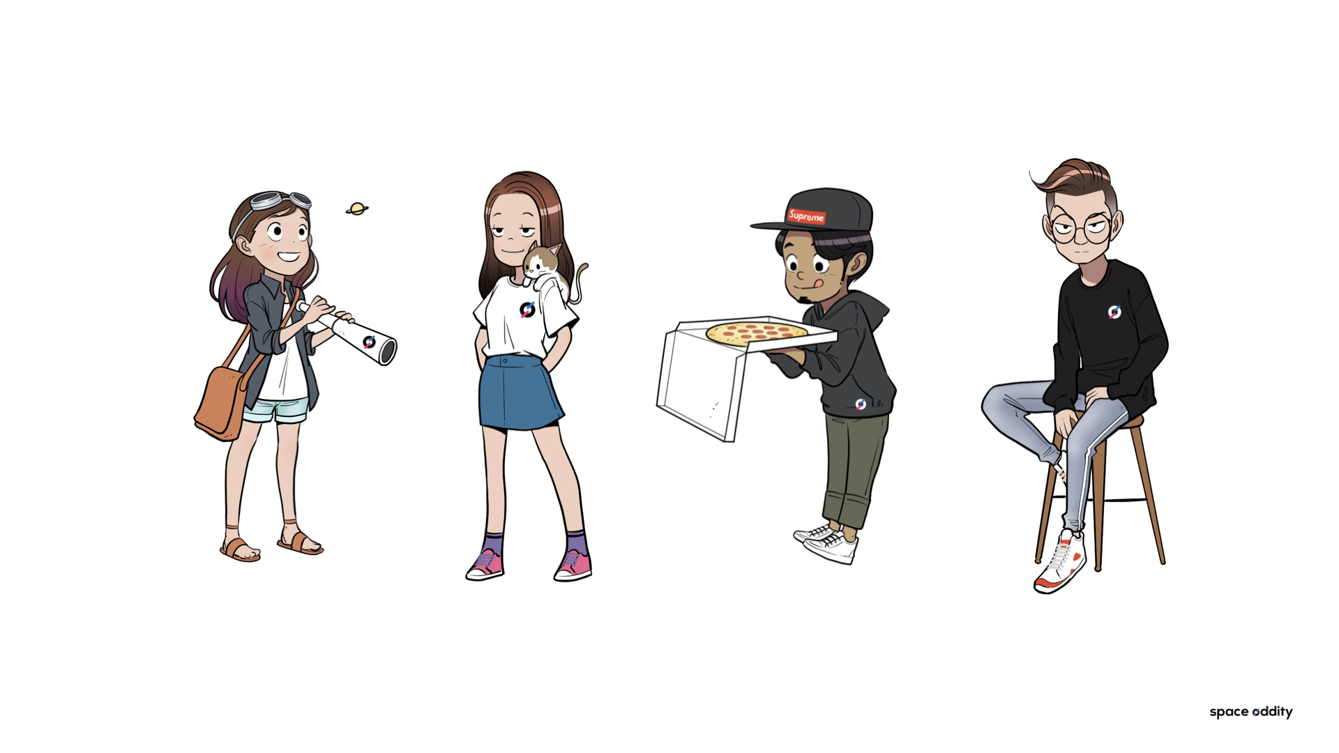 지금도 열심히 음악을 입체적인 경험으로 만들고 있는 뮤직 크리에이티브 그룹 요원들