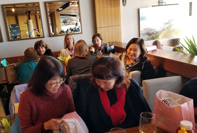New Year's luncheon at Poseidon.