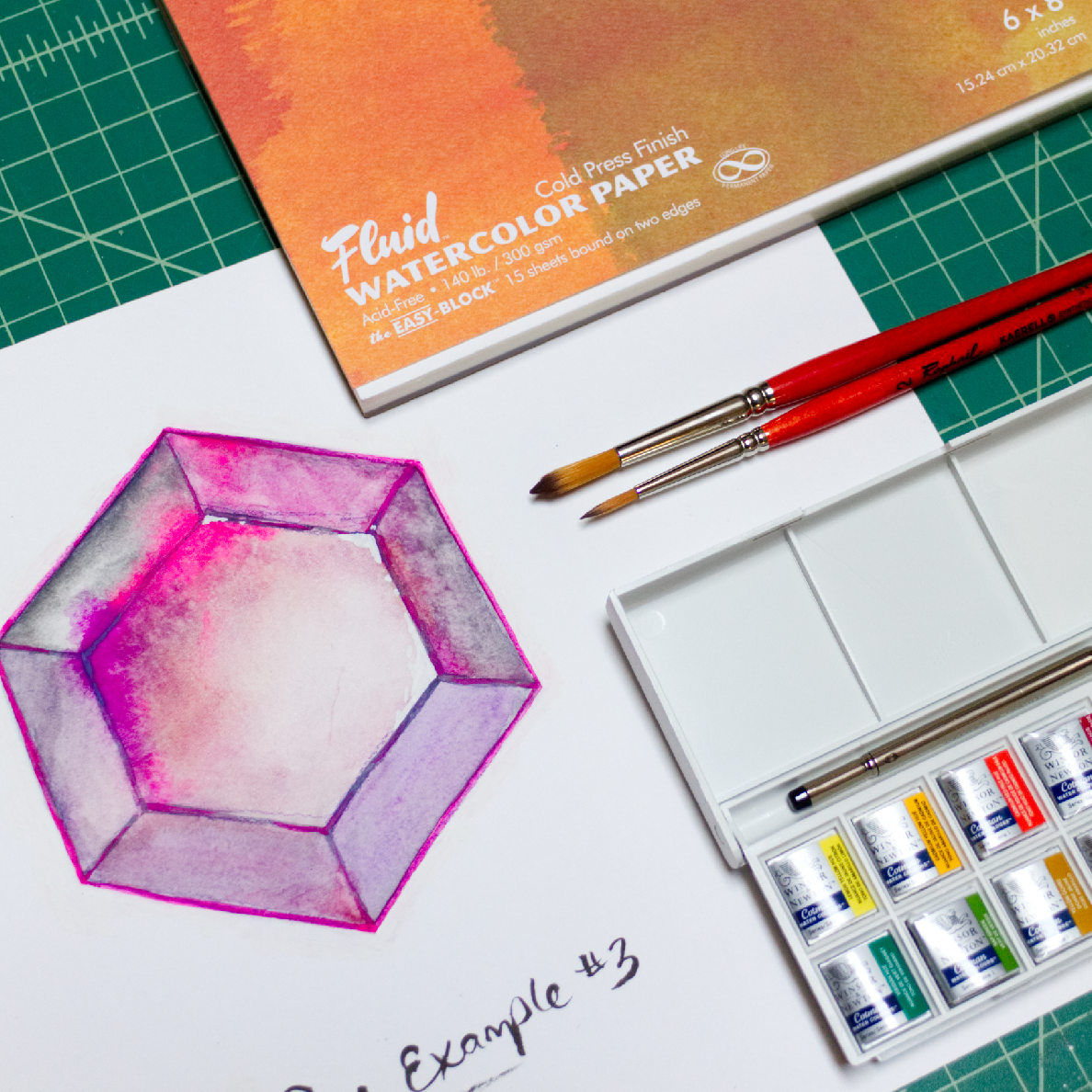 Watercolor Techniques at Bay-Made