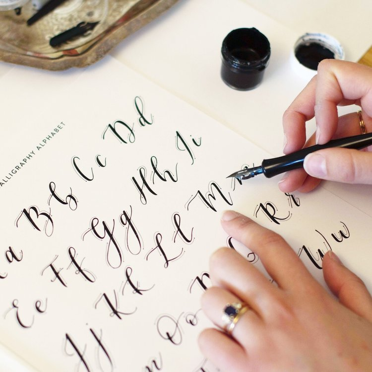 Calligraphy Workshops at Bay-Made