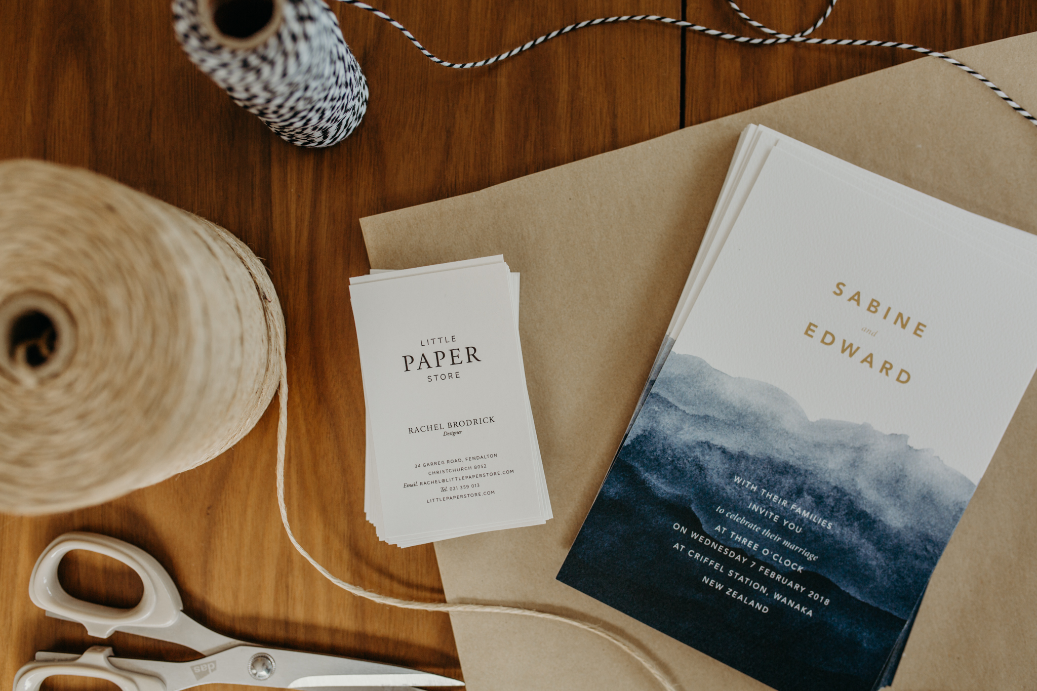 A Little Paper Store creation captured by Hannah Bird Photography