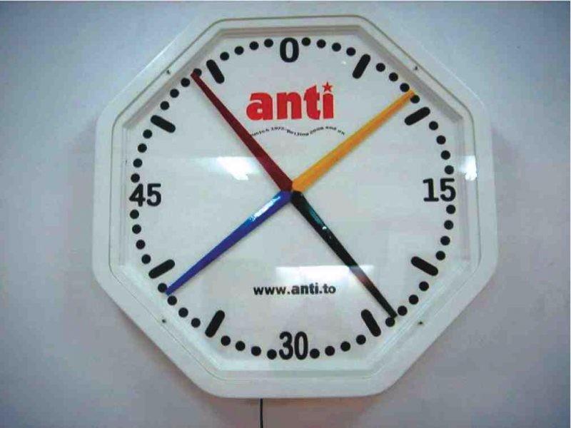 Standard Swimmer Pace Clock
