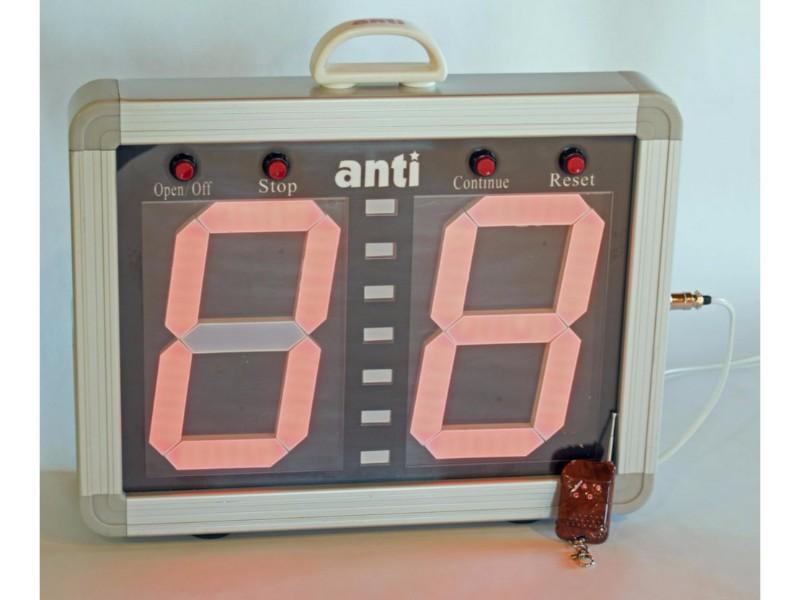 Portable Remote Pace Clock