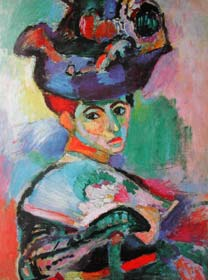 《戴帽子的女人》(Woman with a Hat) 1950 80.6 X 59.7 cm 畫布 油彩 美國舊金山美術館館藏