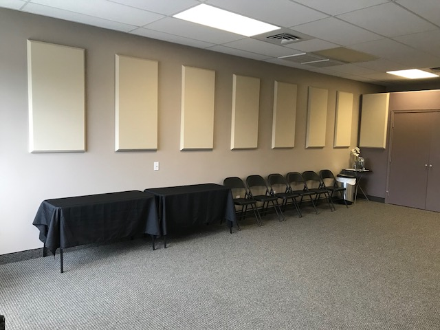 Acoustic panels for optimal sound