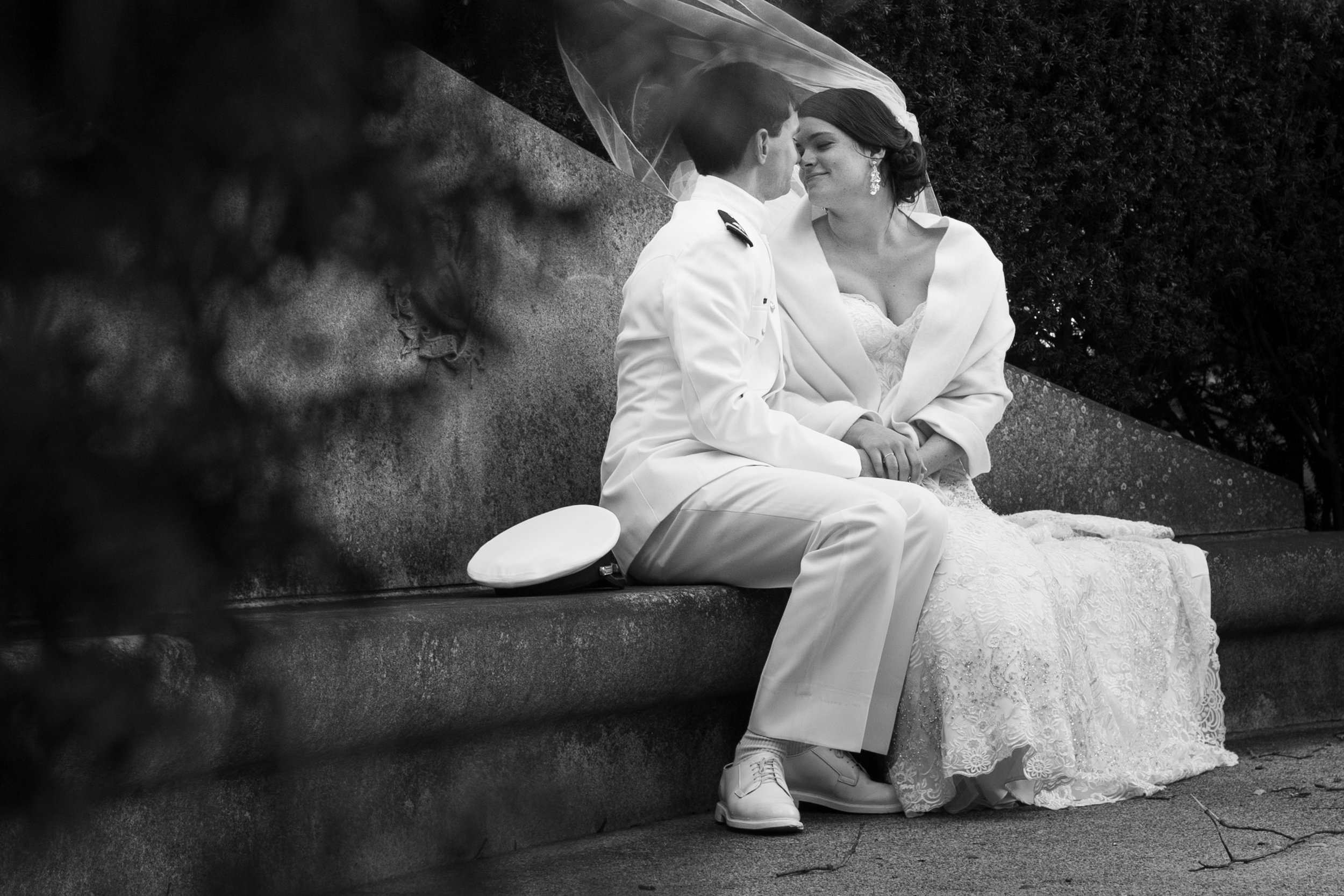 Navy Wedding Photography by Zoe Litaker