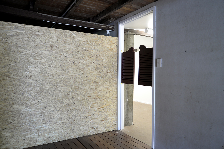 Burnt Sugar  2018 saloon doors dimensions variable