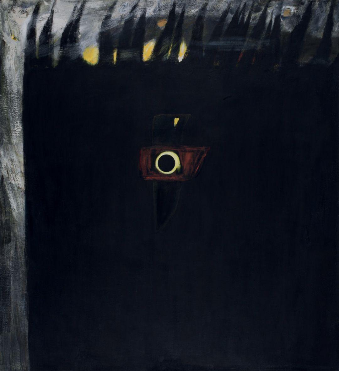 厐壔,宝藏,1986年,布面油画,180×165厘米