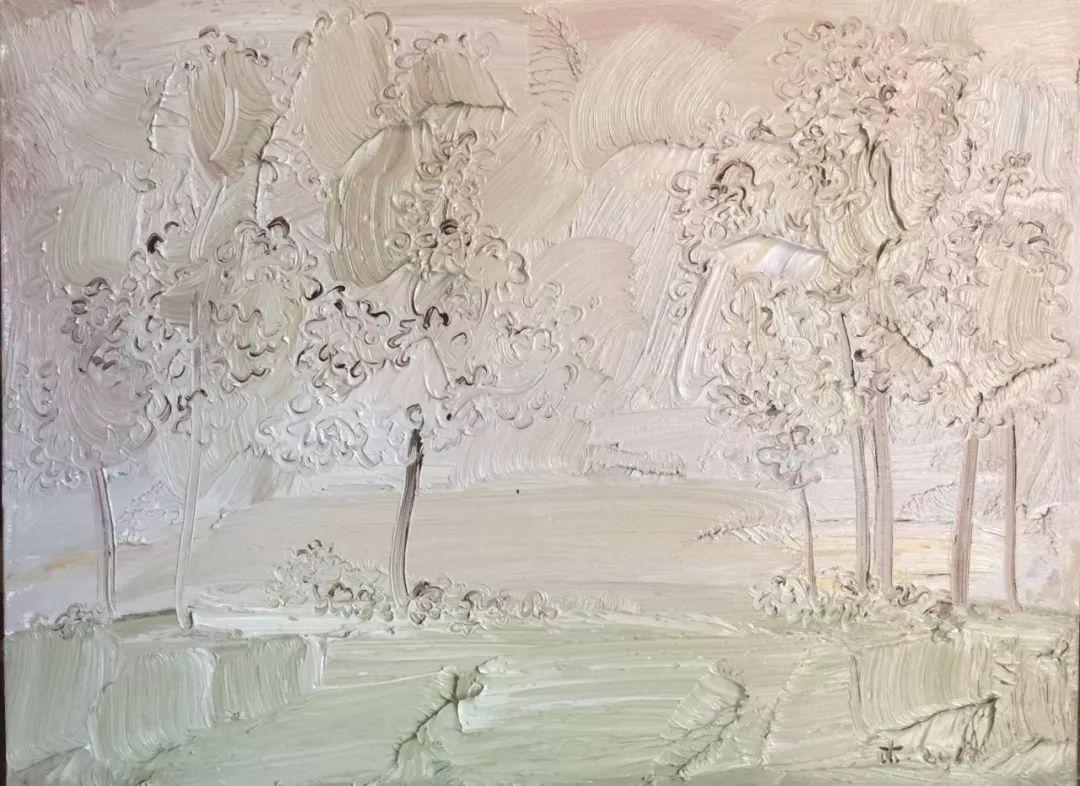 李睦,《缅因》,油画,40×55cm,2017年