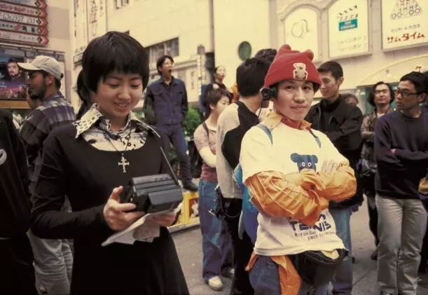 八谷和彦的行为表演,1994年,摄影:中村政人(No.628)