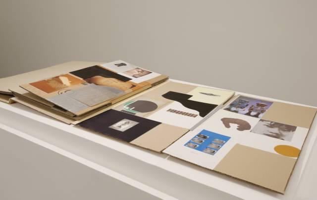 姜希姃,巨人之书,2017年,硬纸盒上拼贴,尺寸可变