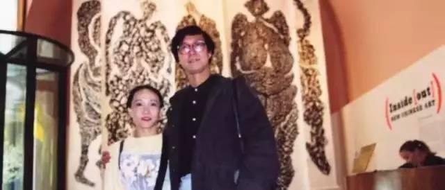张献在亚洲协会见正在纽约驻留的文慧