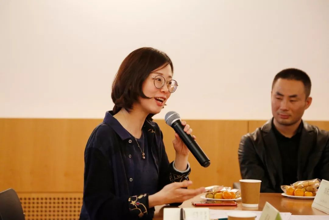 ▲ 中国社会科学院哲学研究所刘未沫老师发言