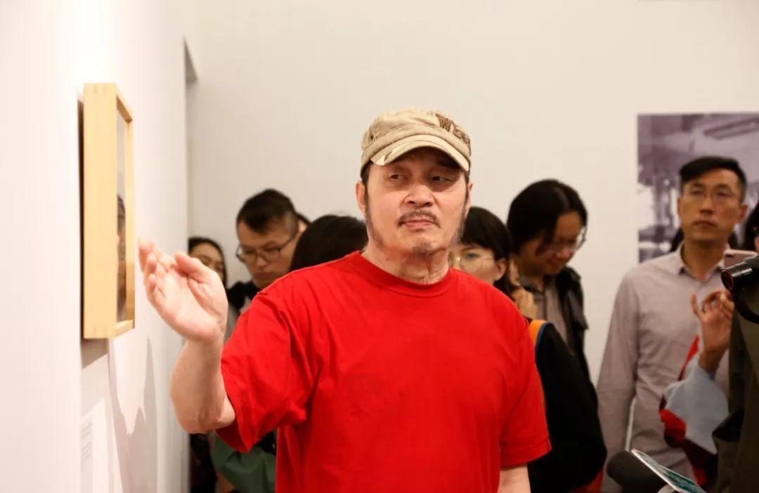 参展艺术家杨雨澍先生
