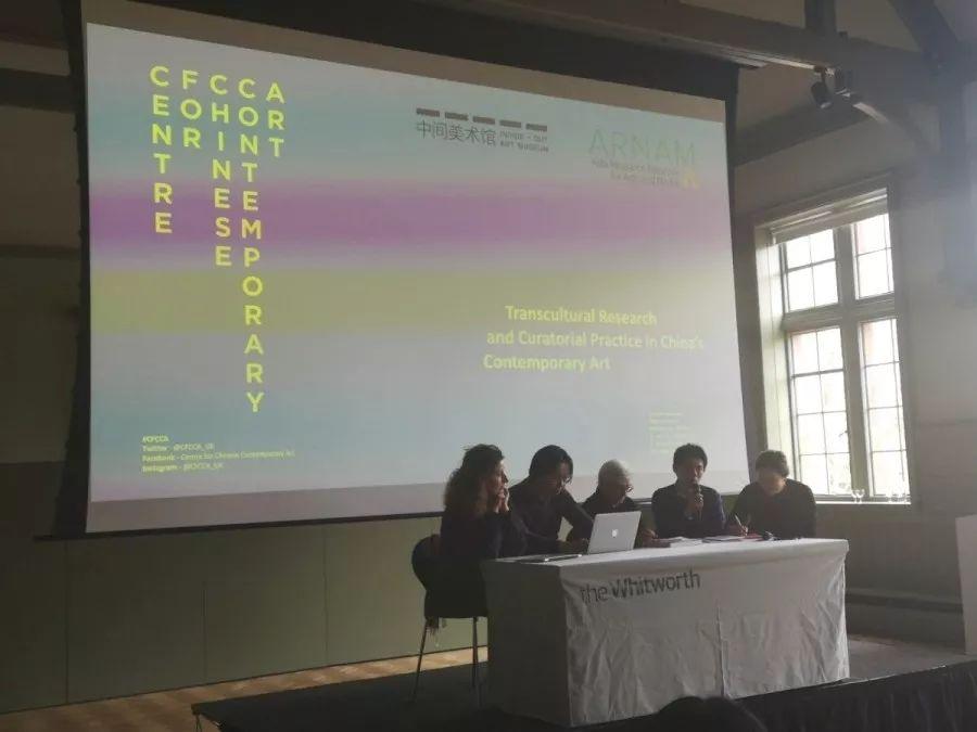 上半场讨论环节。左起:马塞拉·莉兹塔、苏伟、玛丽安娜•布劳沃、刘鼎与瞿畅