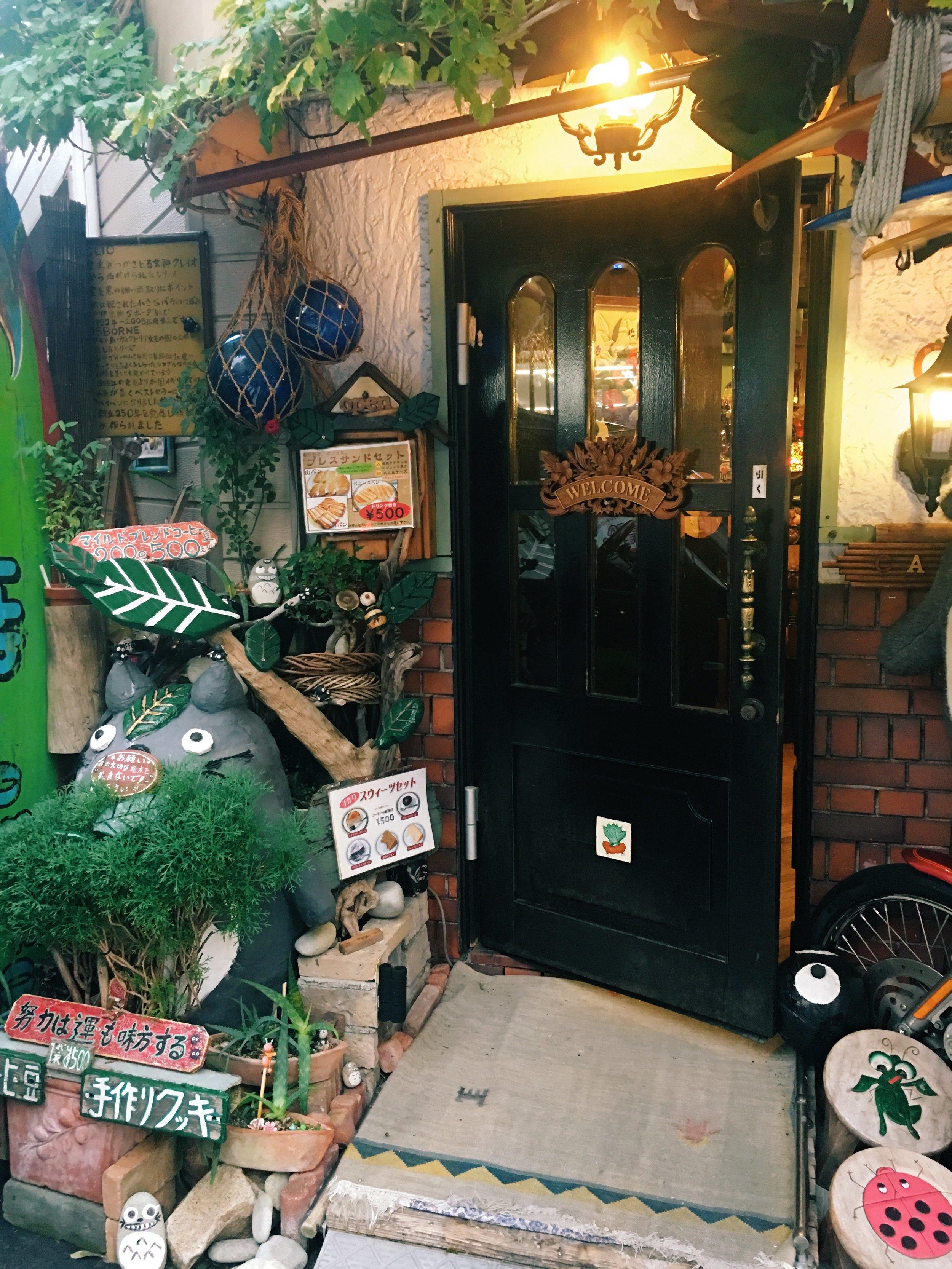 A super cute cafe in Osaka :)