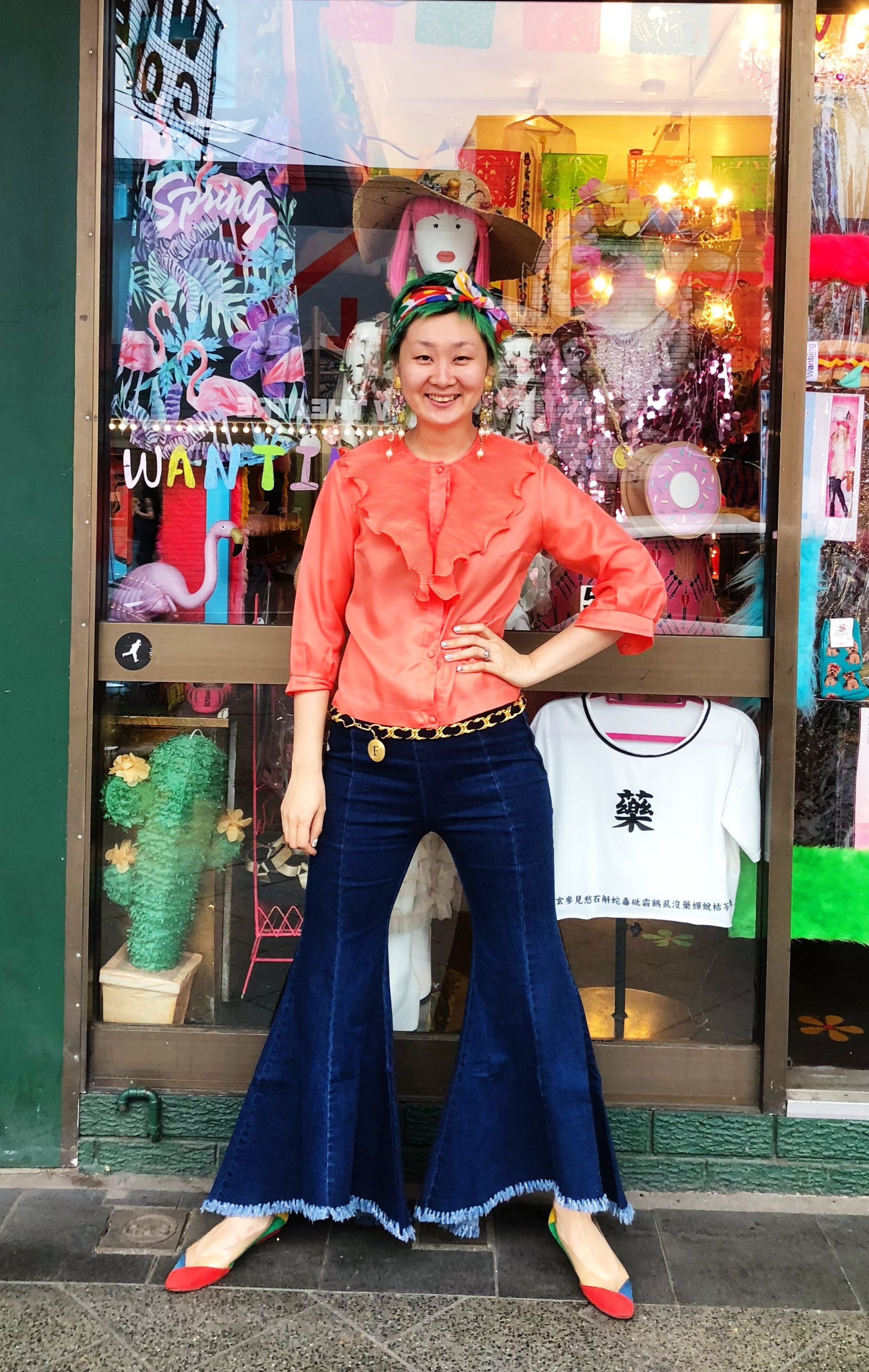 Our founder  Wanting is Emily's translated Chinese name, she alway thought it was a great name for a future project. Emily started Wanting Collection while she was obtaining her Honours degree in Science.  She a loves colour,clothes, taking risks and when the opportunity came to do a causal weekend market stall she went in with only a table, her heart and a box of brightly coloured socks. The enterprise was inspiring, so much so she created a business.  After finishing her studies her life path took an unexpected direction when she opened her first shop in Newtown. Emily believes in hard work, honesty and collaborative relationships.  She travels internationally very often to find and hand pick the items that give Wanting Collection its unique character and soul, she tries to introduce and share new and interesting things to her friends back in Sydney.  Emily's objective for Wanting collection is to showcase talent, diversity and positivity. She has alway dreamed of a colourful wonderland, now she is living her dream. The power of Wanting Collection made this happen :) Dream big, it will happen, it must!