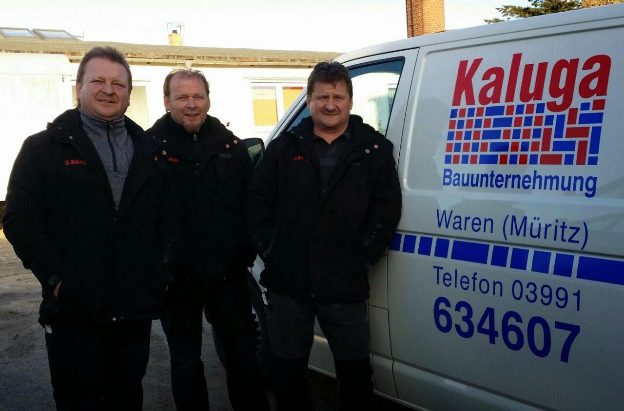Die 3 Brüder und Geschäftsführer Dieter Kaluga, Olaf Kaluga & Volker Kaluga
