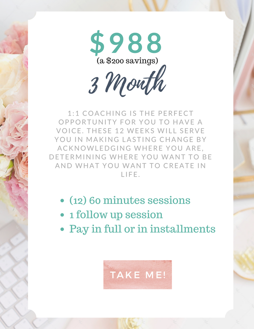 Work with Me 3 Month