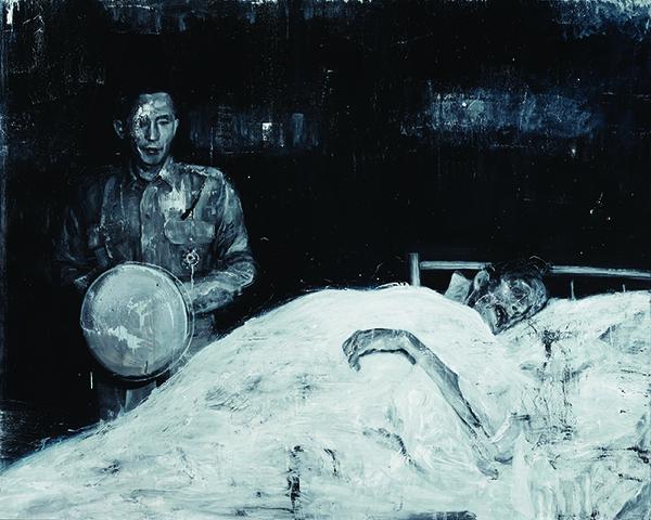 서원미 _The Black Curtain 심산, 중수' Oil on linen,181.8 x 227.jpg