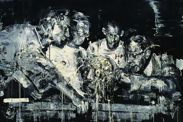 서원미 Anatomy lesson - BW Oil on canvas, 130.3 x 193.jpg