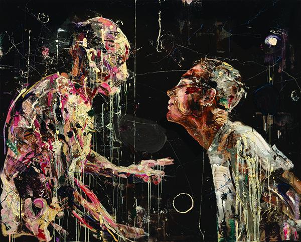 서원미 Meet the body Oil on canvas, 130.3 x 162.jpg