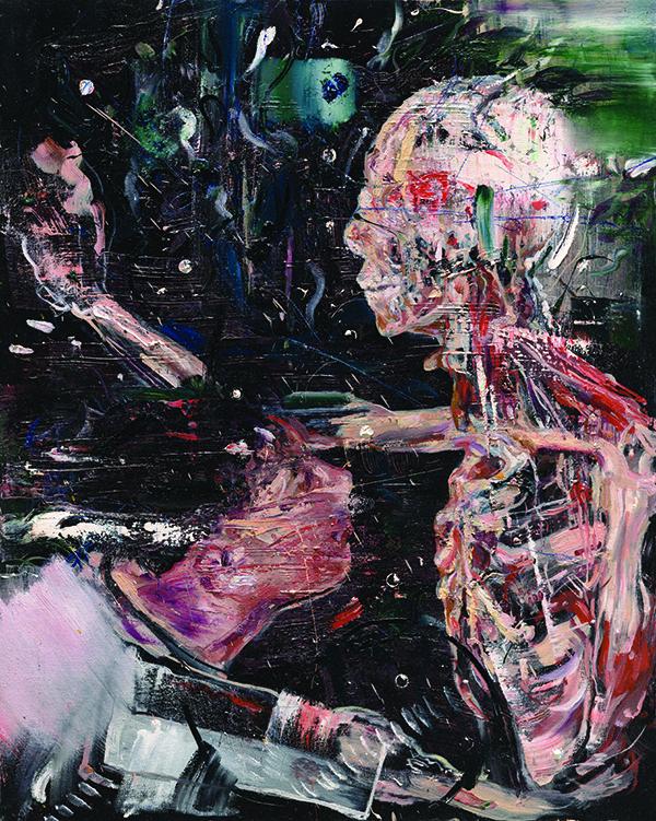 서원미 Seek the body Oil on canvas, 90.9 x 72.jpg