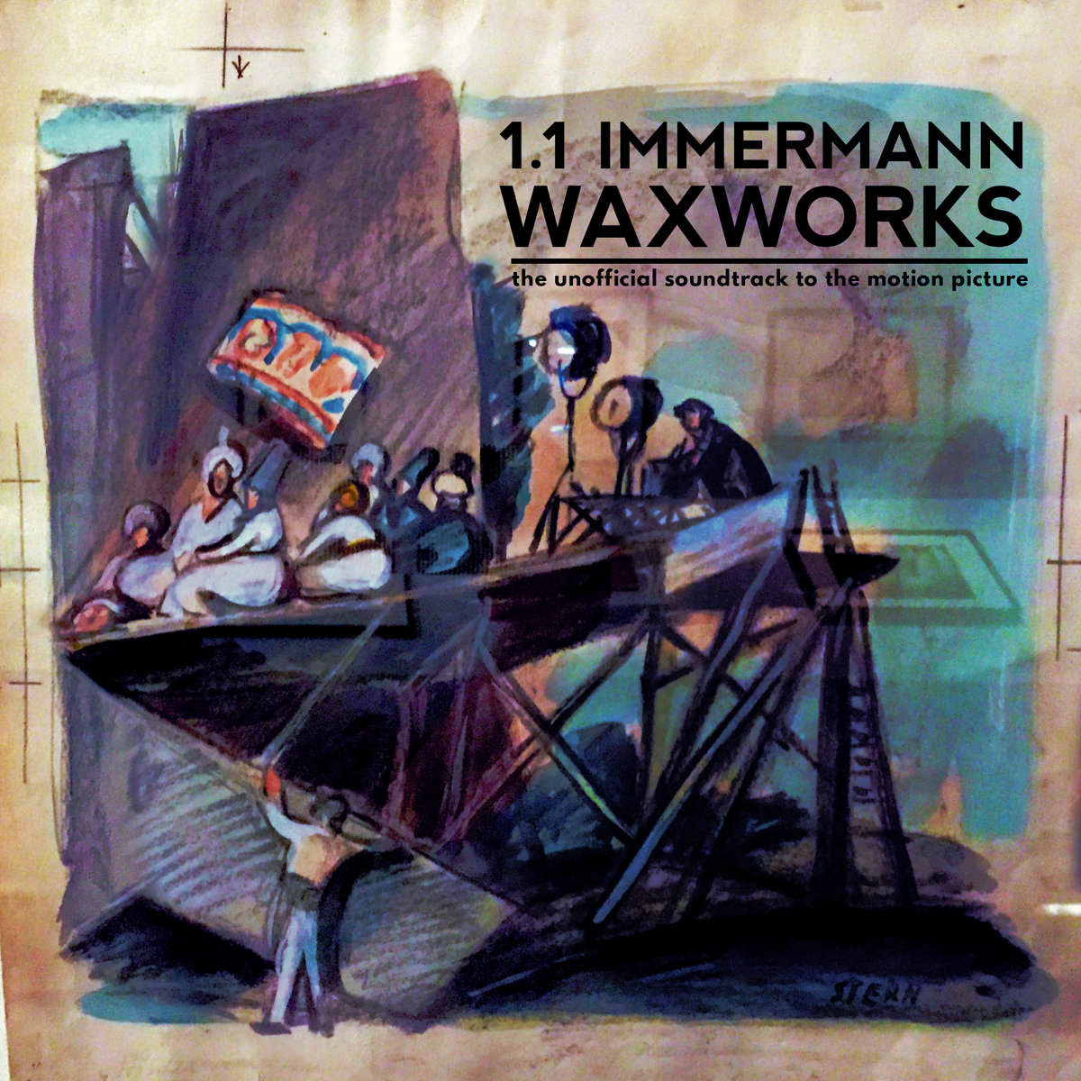 "1.1 Immermann - ""Waxworks"" [Recorded, Mixed & Mastered (JP)]"
