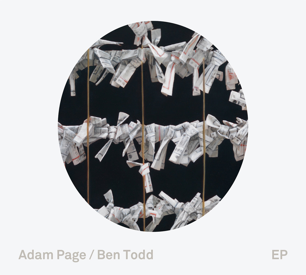 "Adam Page & Ben Todd – ""EP"" [Recorded & Mixed (JB), Produced (AP), Mastered (JP), WTR]"