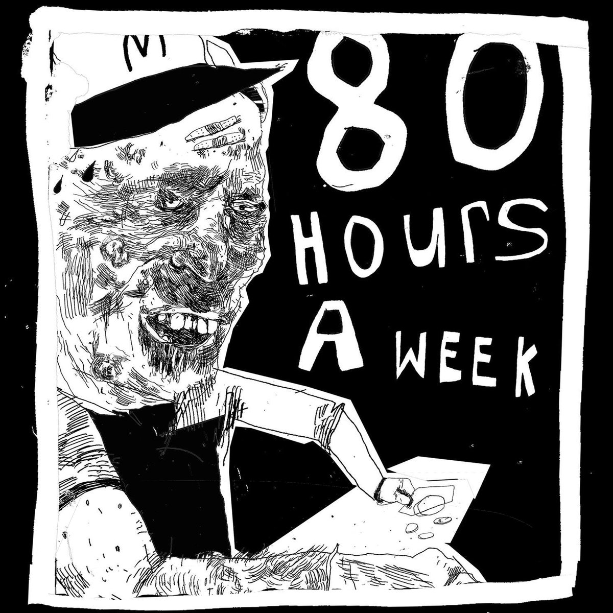 "St. Morris Sinners - ""80 Hours a Week"" (single) [Recorded, Mixed and Mastered (JP)]"