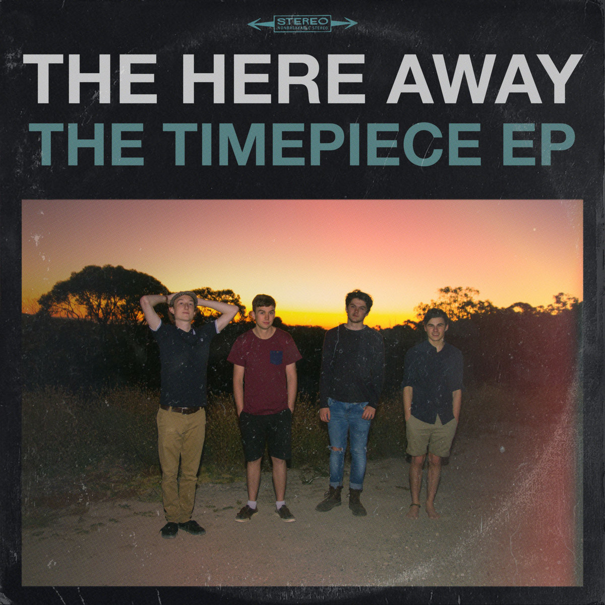 "The Here Away - ""The Timepiece EP"" [Recorded (JB), Mastered (JP)]"