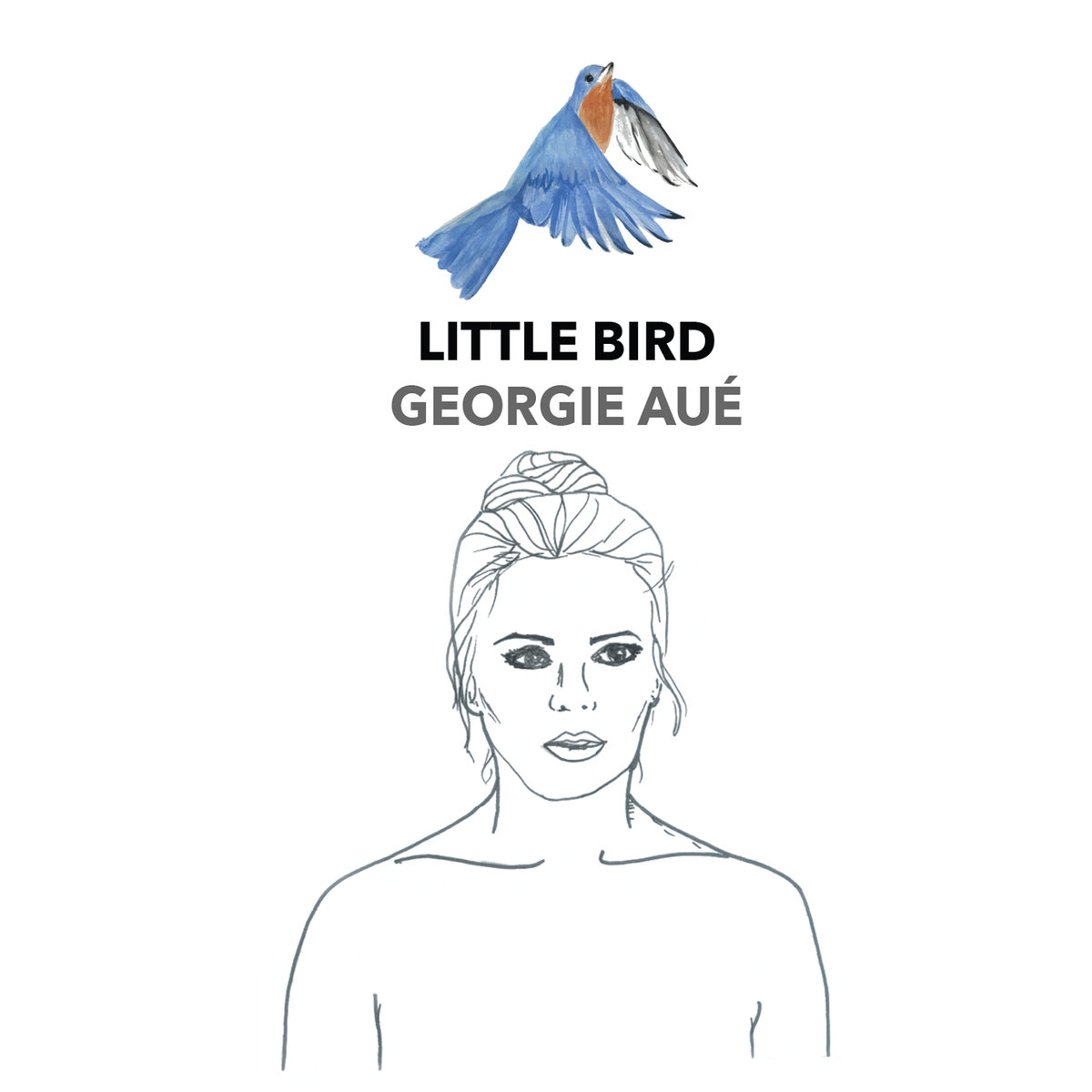 "Georgie Aué - ""Little Bird"" [Mixing & Mastering (JP) (Recorded by Niko Schauble at Pugman Studios)]"