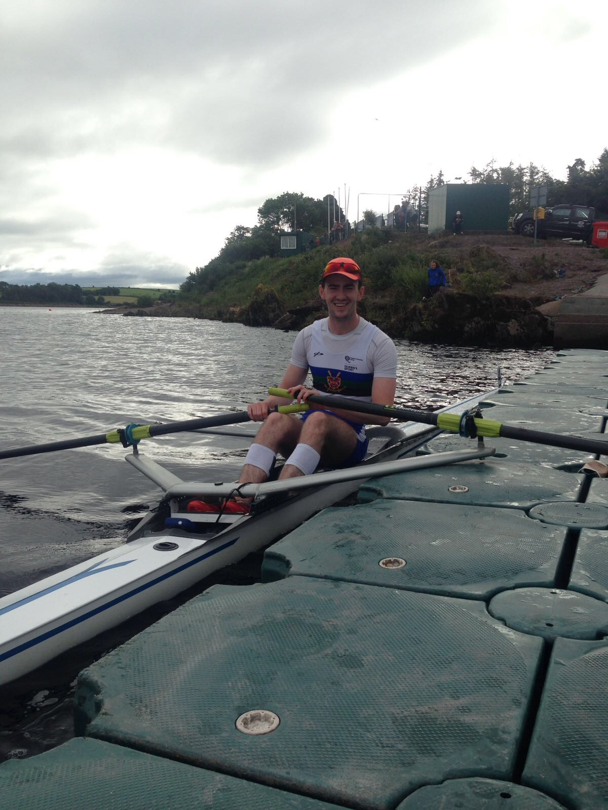 Queen's Rowing at the Home International Regatta 2017. Michael McNamee