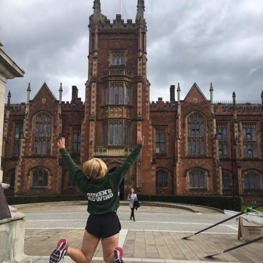 Queen's Rowing Recruitment Lanyon Building QUB - September 2017