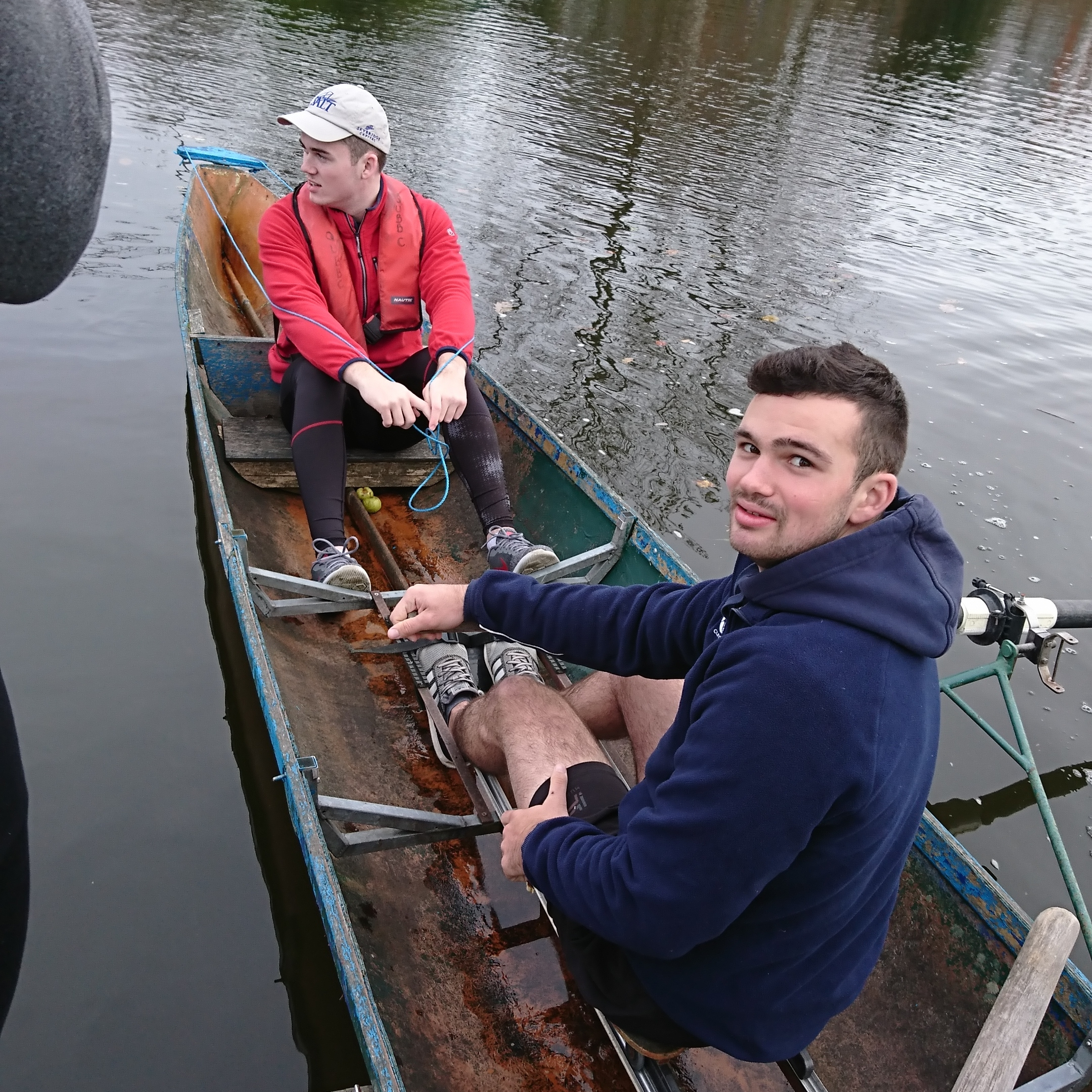 Jack Lafferty tries his hand at Coxing for the first, and hopefully last, time.