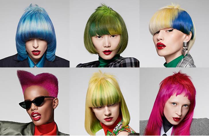 """- Die Color Zoom Kollektion """"RƎMIX"""" war die Vorlage für den Wettbewerb. Eine eigene Interpretation der sechs Looks musste eingesendet werden."""