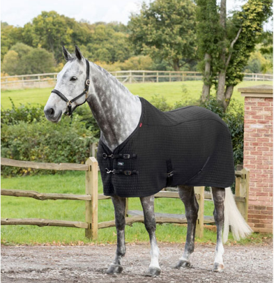 le mieux thermocool rug - £83.95 including 1 logo embroideryAvailable in Black, Navy, Benneton Blue & BurgundyAvailable in sizes 5'0 up to 7'0