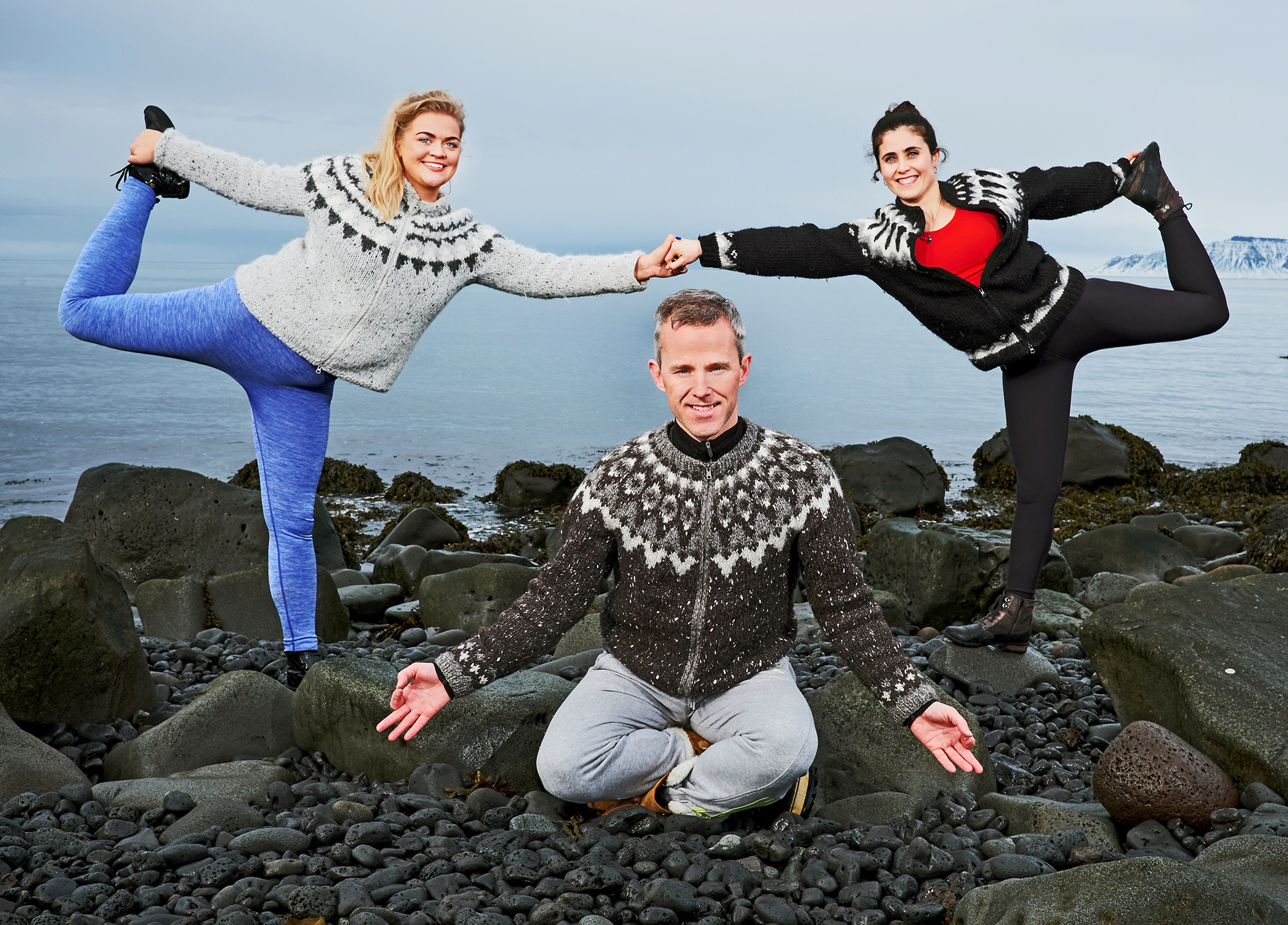 Ice Yoga   Jógaævintýri á ferðalagi um landið